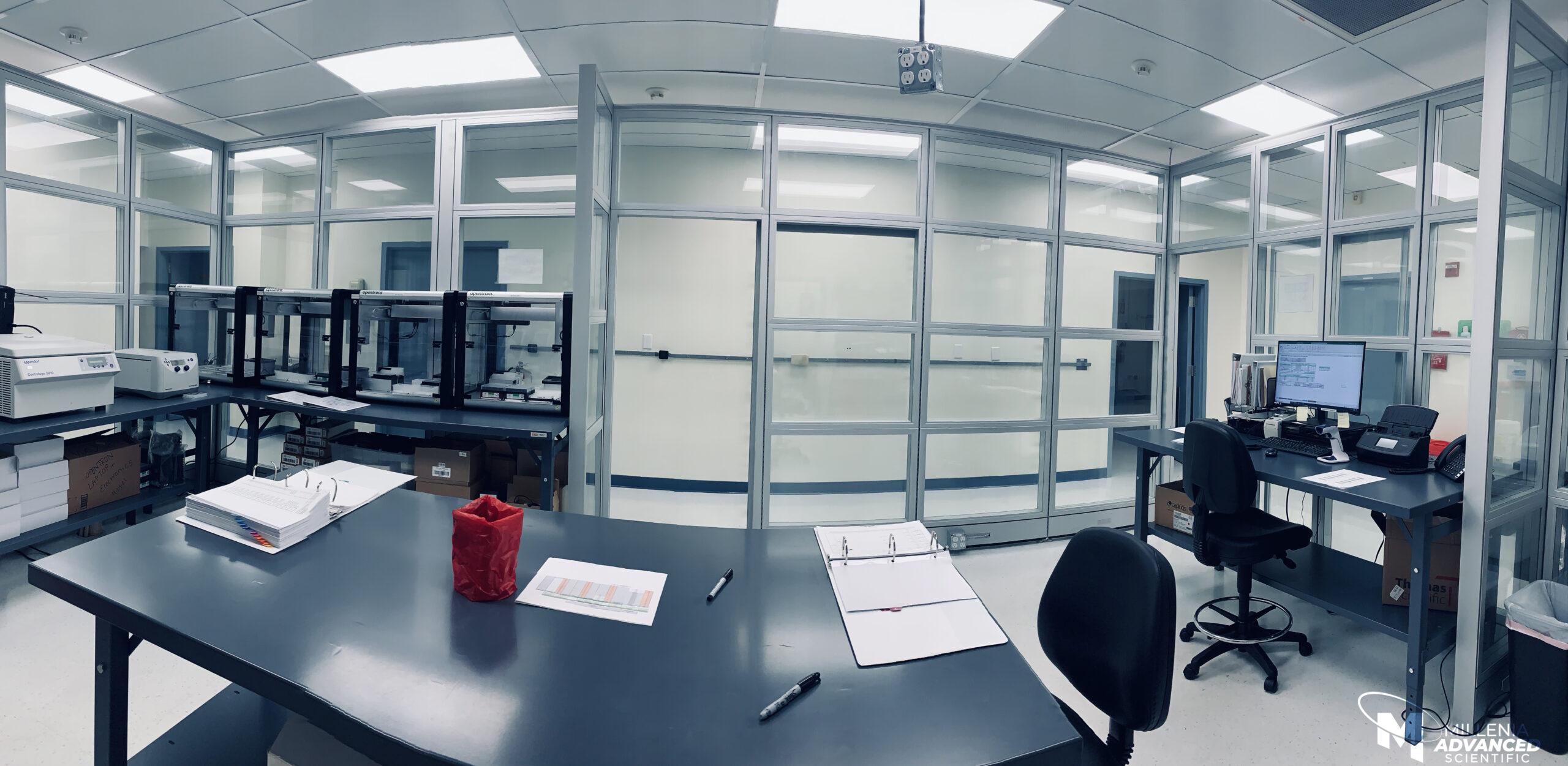 Inside of lab - Covid-19 testing in Orlando