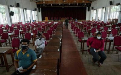 The Latest: Sri Lanka begins vaccinating 18-19 age group